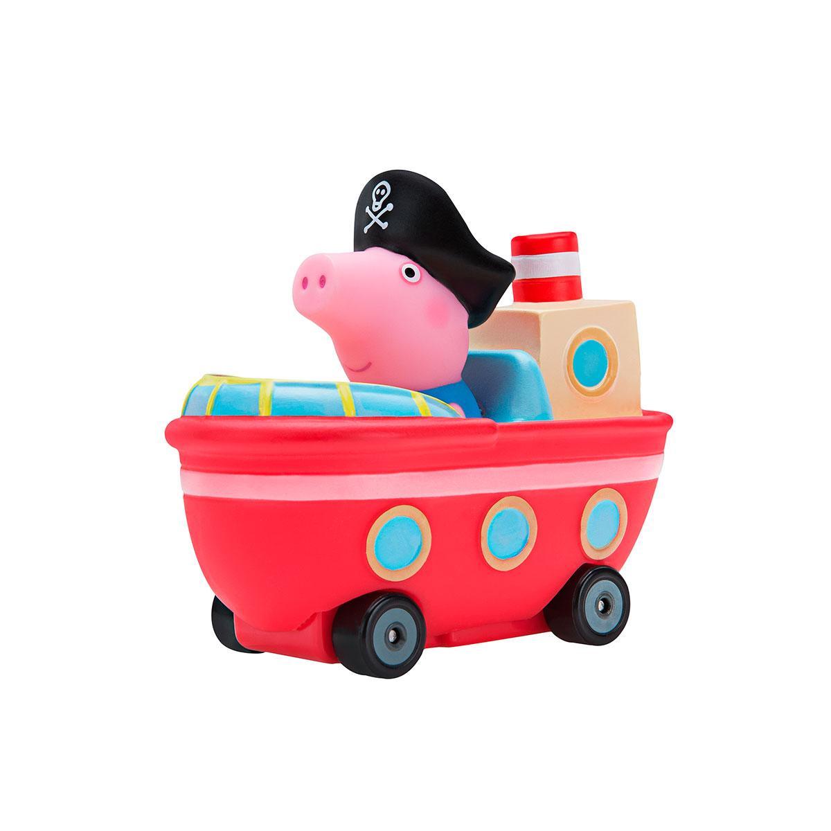 Peppa Мини-машинка Джордж в кораблике - серии Когда я вырасту, 96589