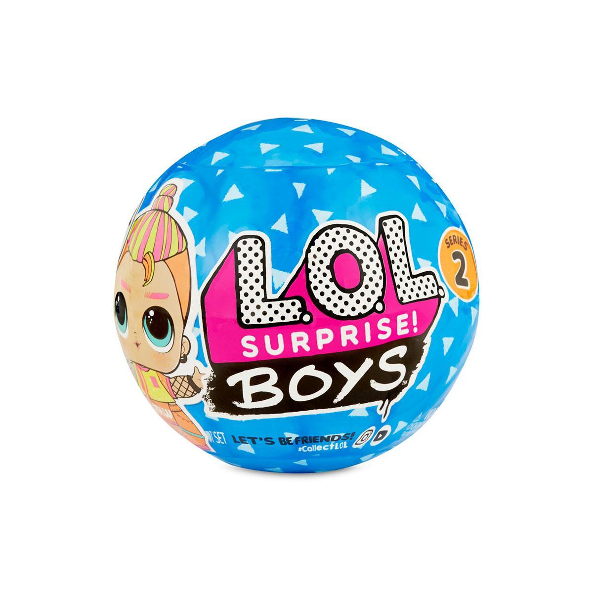 Игровой набор с куклой L.O.L Surprise! S6 W2 Мальчики, 561699-W2