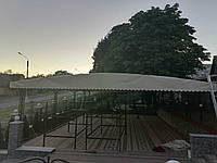 Тент ПВХ - на летний ресторан, кафе Германия 680 г/м2.