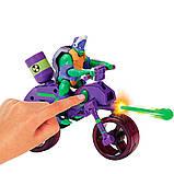 TMNT Боевой транспорт мотоцикл и фигурка Донателло - серии Эволюция Черепашек-Ниндзя, 82489, фото 2
