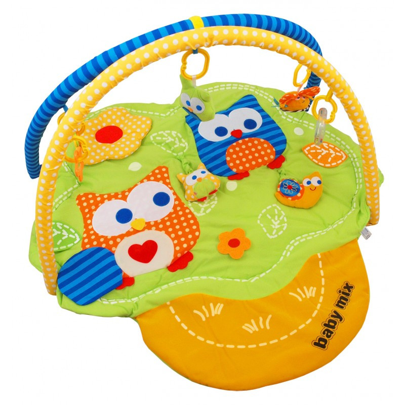 Детский игровой развивающий коврик Baby Mix TK/3375C/20 Дерево