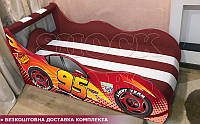 Кровать машина ТАЧКИ Hipe Drive  комплект от 1500х700