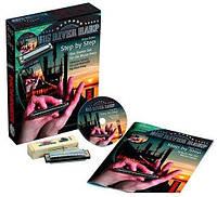 Губна гармошка.Hohner M91401 Step by Step Harmonica Blues Starter Pack (Big River C)