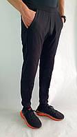 """Літні спортивні штани(100% хлопок) на резинці з низу від """"zomak TM"""" Чорний, ."""