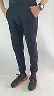 """Літні спортивні штани(100% хлопок) на резинці з низу від """"zomak TM"""" Темно-синій, ."""