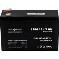 Батарея к ИБП LogicPower LPM 12В 7 Ач (3862), фото 1