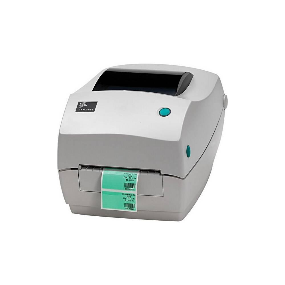 Термотрансферный принтер этикеток Zebra TLP2844-Z USB + LAN / Ethernet + RS-232