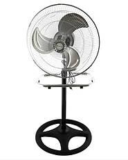Вентилятор Domotec MS-1622 Industrial 2 в 1 напольный и настольный, фото 2