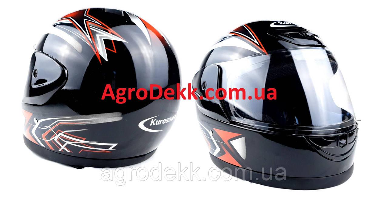 Шлем для мотоцикла Hel-Met 802 черный