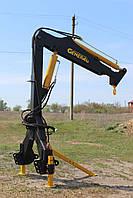 Кран манипулятор на трактор S-1500