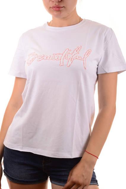 Женская футболка с принтом оптом Louise Orop (5029) лот 12шт по 8,5Є 84