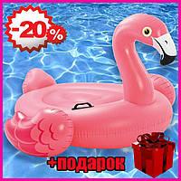 Надувной детский матрас-плот Intex 57558 Фламинго, дитячий матрас-плот