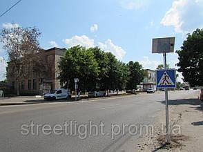 Автономний  дорожній знак «Пішохідний перехід», фото 3