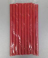 Стержні клейові 10 шт пачка (ціна за пачку) 11x200 мм червоні LTL14018