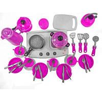 Детской набор посуды Orion Iriska 7 Розовый 127