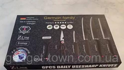 Набір ножів 6 предметів German Family GF-02