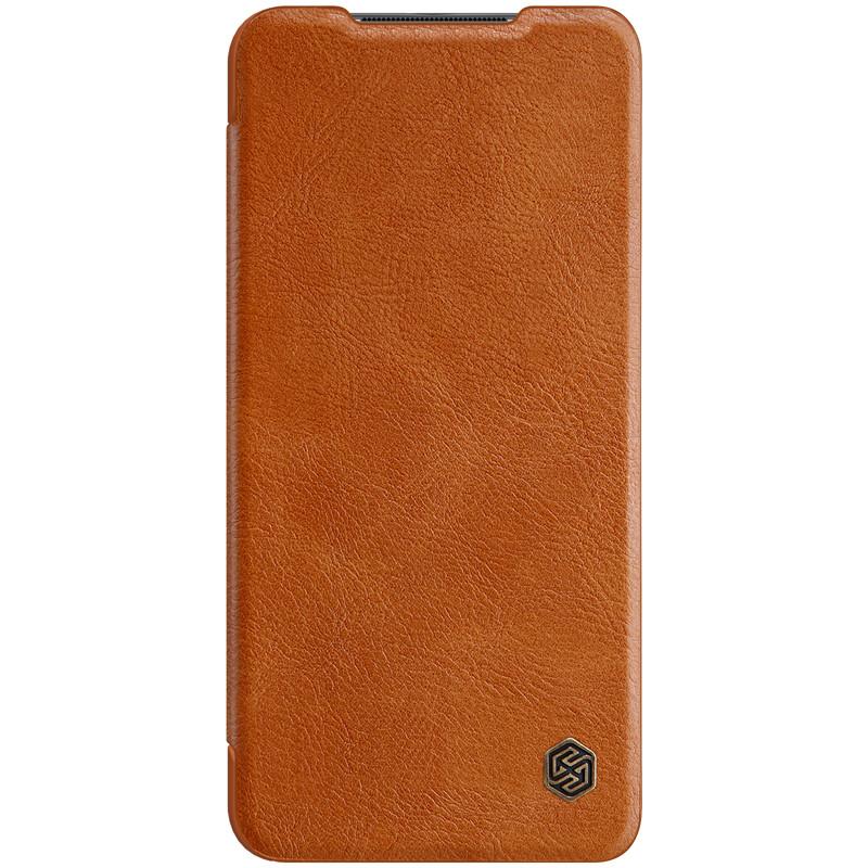 Nillkin Xiaomi Redmi Note 9 / 10X 4G Qin leather Brown case Чехол Книжка