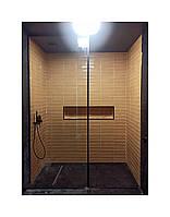 Душевая кабина, прозрачное закаленное стекло 8мм