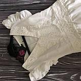 Платье с кружевом Турция Новая коллекция, фото 4