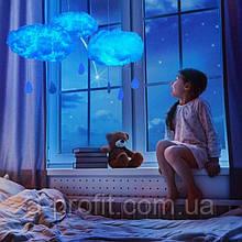 DIY LED Нічник-світильник ручної роботи. Бавовняна лампа у вигляді хмари