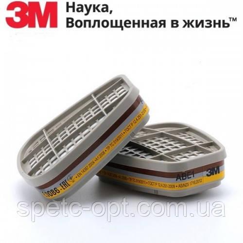Фильтр 3М 6057 АВЕ1. Сменный патрон 3М 6057. оригинал.