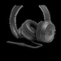 Оригинал. Накладные проводные наушники JBL Tune 500 Black с микрофоном навушники провідні накладні сині T500