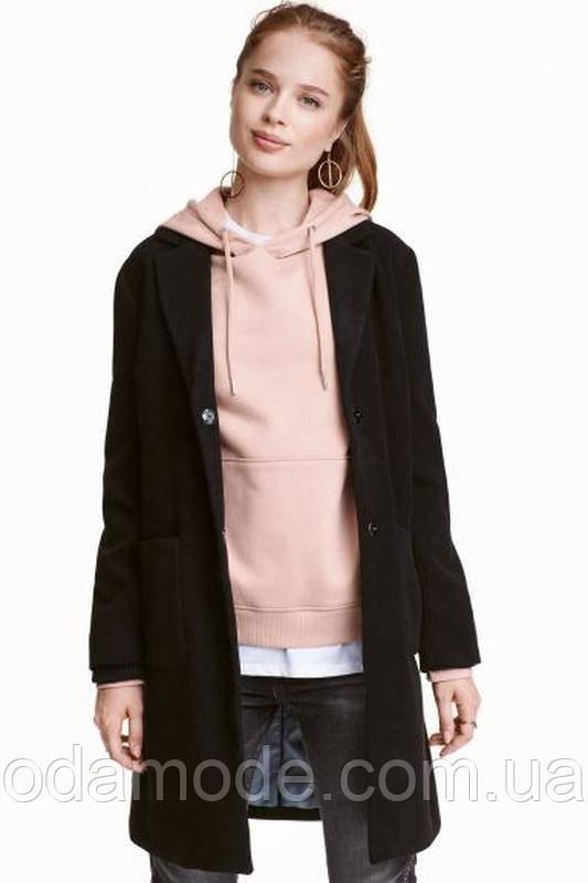 Пальто жіноче чорне h&m