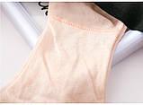Комплект женского нижнего белья из сетки. Соблазнительный набор из лифа и трусиков, размер М, фото 9