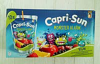Сок мультифруктовый с трубочкой Capri-Sun Monster Alarm (коробка 10шт*200ml) (Германия)