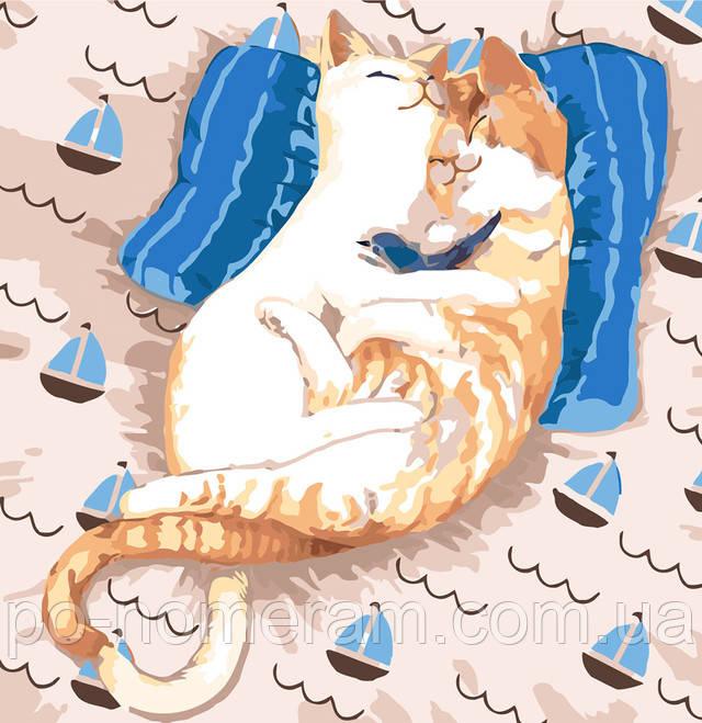 Картина по номерам Идейка Коты ля-мур