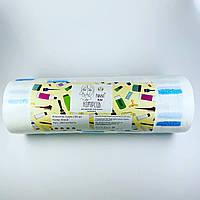 Комірець для перукарів еластичний Panni Mlada™ (100 шт/рул, 5 рул/пач) паперовий Колір: білий