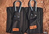 Петли Береша подвесные B3 с ручками для тяги и отжиманий, черный (ОХ OS-0705), фото 1