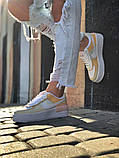 Женские  кроссовки  Air Force 1 Shadow White Grey, фото 8