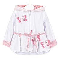 Вітрівка для дівчинки Рожеві метелики Baby Rose (74)