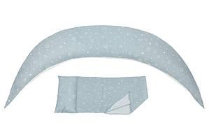 Подушка для вагітних Nuvita 10 в 1 DreamWizard (сіра)