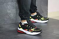 Чоловічі кроссівки в стилі 8416 Puma Cell Venom чорно білі\салатові