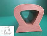 Ущільнювач гумовий монолітний, пористий, довгомірний, профіль ГТВ різної складності., фото 5