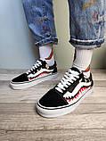 Чоловічі кеди Vans Old Skool X Bape Custom, фото 3