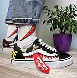 Чоловічі кеди Vans Old Skool X Bape Custom, фото 5