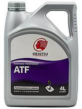 Масло трансмиссионное IDEMITSU ATF SP3 (4 литра, пластик)