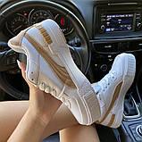 Жіночі кросівки Puma Select Cali Sport Mix Beige., фото 4