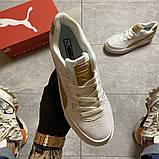 Жіночі кросівки Puma Select Cali Sport Mix Beige., фото 7