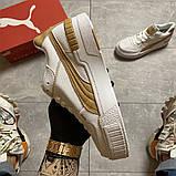 Жіночі кросівки Puma Select Cali Sport Mix Beige., фото 8