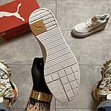 Жіночі кросівки Puma Select Cali Sport Mix Beige., фото 9