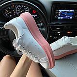 Женские кроссовки Alexander McQueen White Pink., фото 6