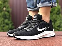 Чоловічі кроссівки в стилі 9387 Nike Flyknit Lunar 3  чорно білі