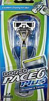 Чоловічий станок для гоління DORCO PACE 6 PLUS (з Тримером) (1шт)