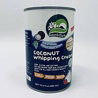 Кокосовые сливки для взбивания, 400 мл, Nature's Charm (Тайланд)