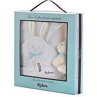Подарунковий набір Kaloo Les Amis - Ковдра з іграшкою Кролик, фото 1