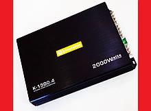 Автомобильный усилитель звука  Roadstar  / JN Audio K-1500.4 2000W 4-х канальный